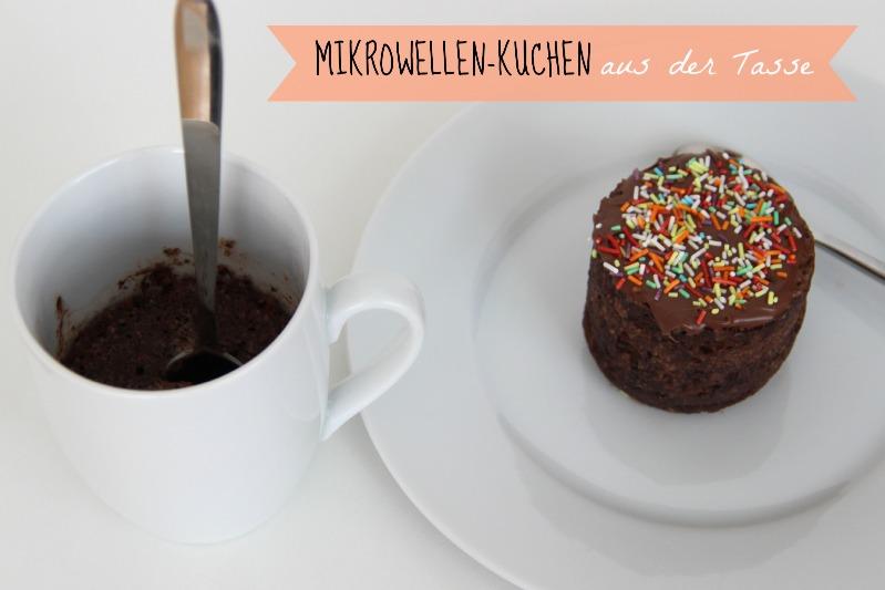Mikrowellen Kuchen Aus Der Tasse Suechtignach At