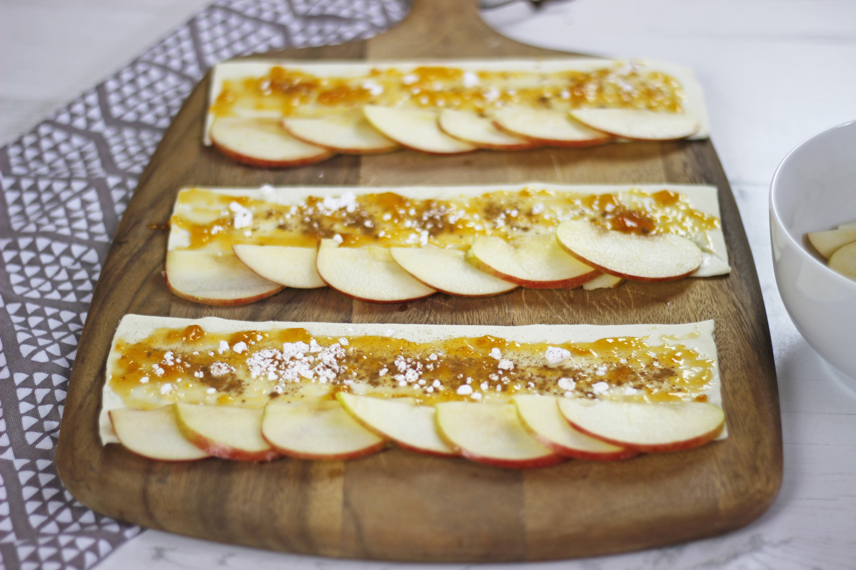 Apfelrosen aus Blätterteig 03