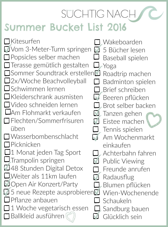 Süchtig_nach_Summer_Bucket_List_2016_done