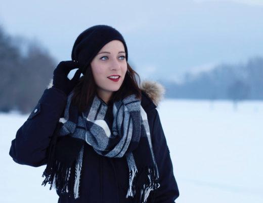 Beanie Mütze Haube Winter Schnee Süchtig nach Lifestyleblog Linz