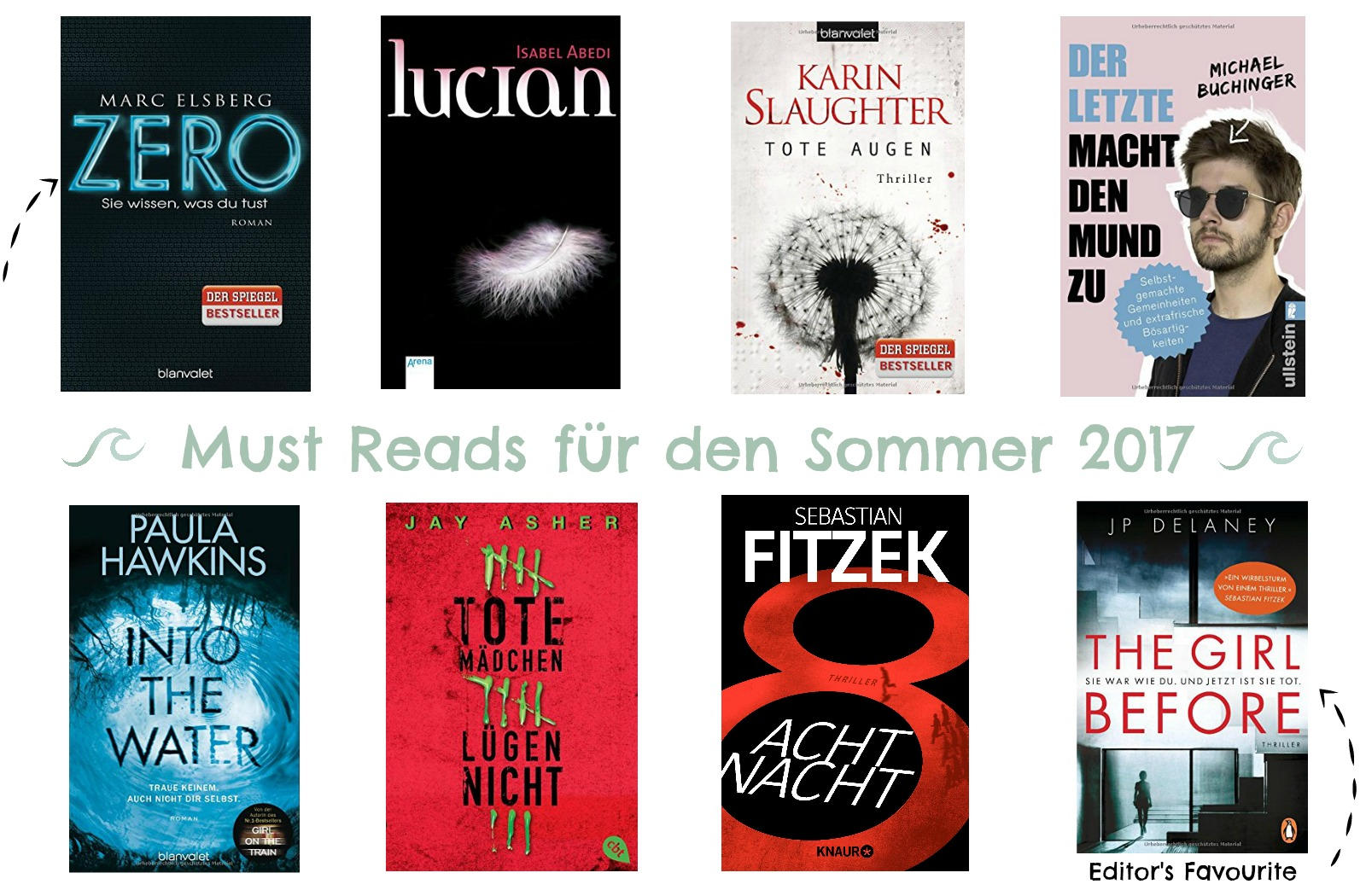 Must Reads Sommer