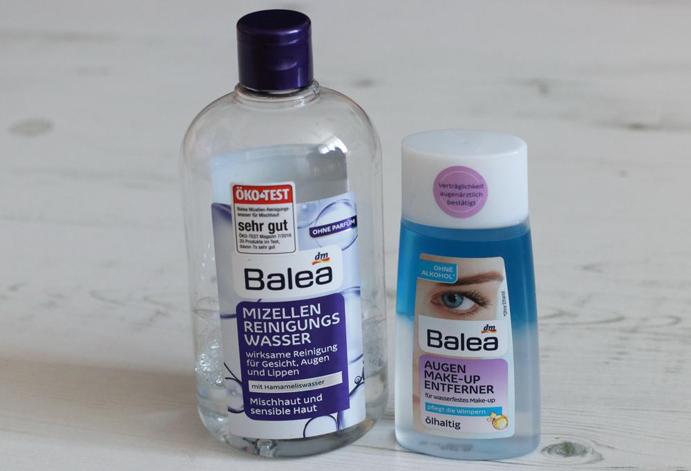 Gesichtspflege-Routine